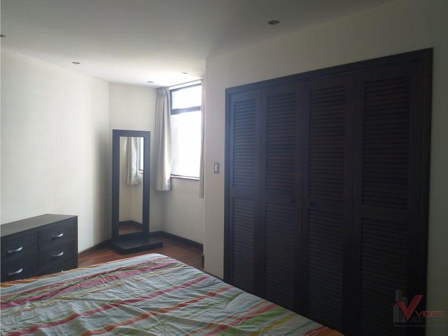 renta apartamento amoblado 4 avenida en zona 14