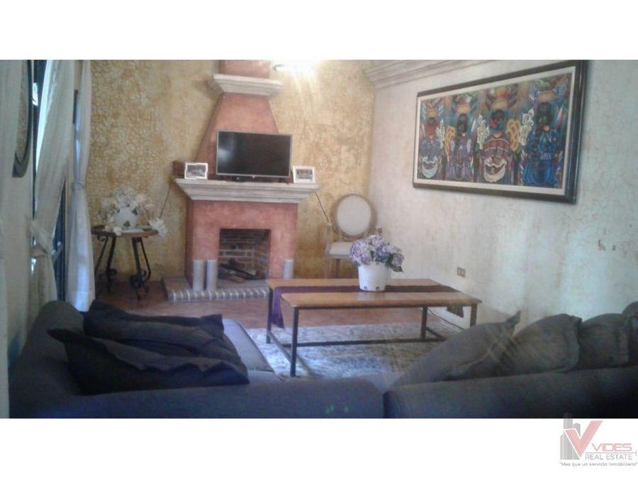 venta casa en antigua