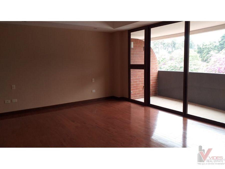 renta apartamento 11 calle zona 15