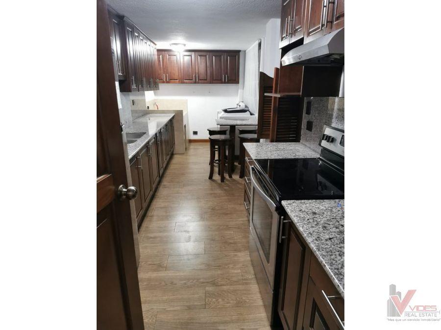 renta apartamento en zona 15 22 avenida