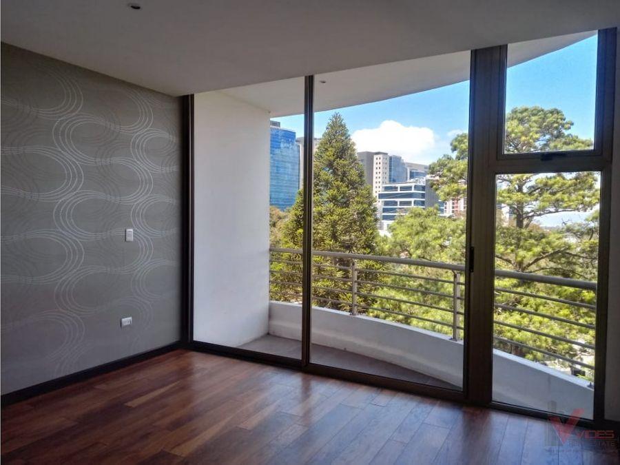 renta apartamento en vista hermosa ii zona 15