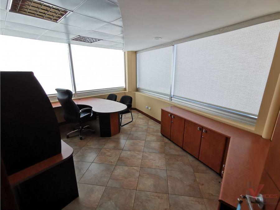renta oficina amueblada zona 15 edificio avante