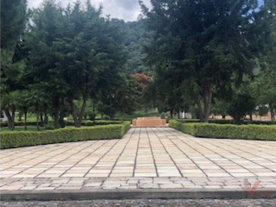 terreno en antigua guatemala