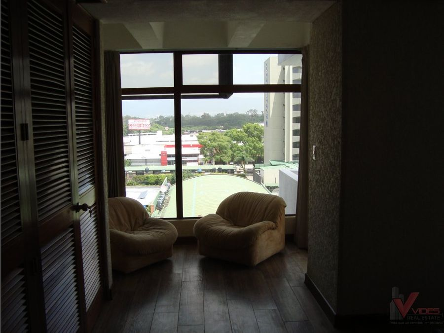 renta apartamento amoblado 15 calle zona 9