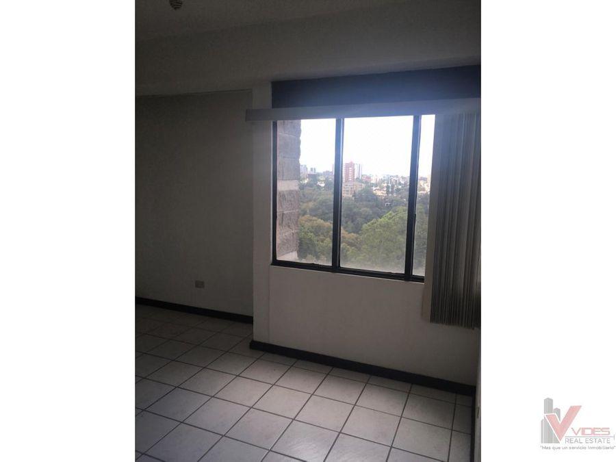 apartamento en renta en 11 calle zona 15