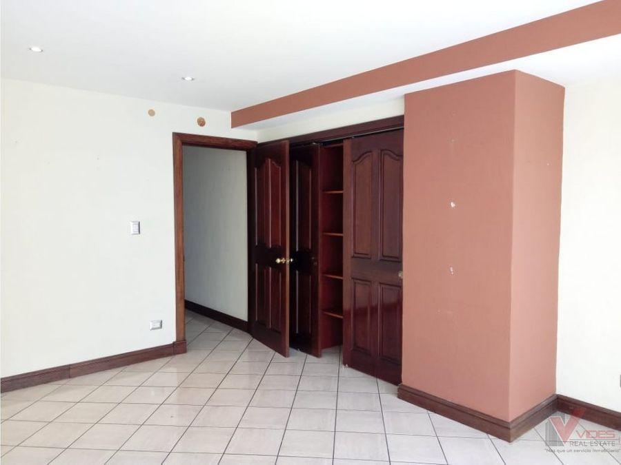 venta y renta apartamento 5 av zona 14