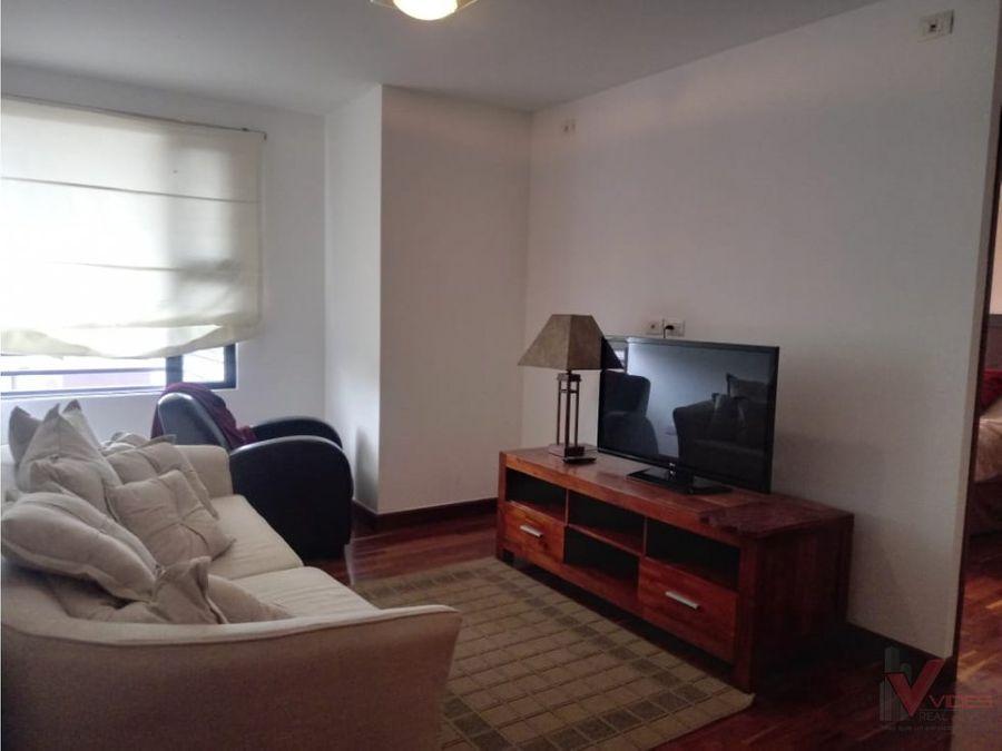 renta apartamento amueblado en 5 avenida zona 14