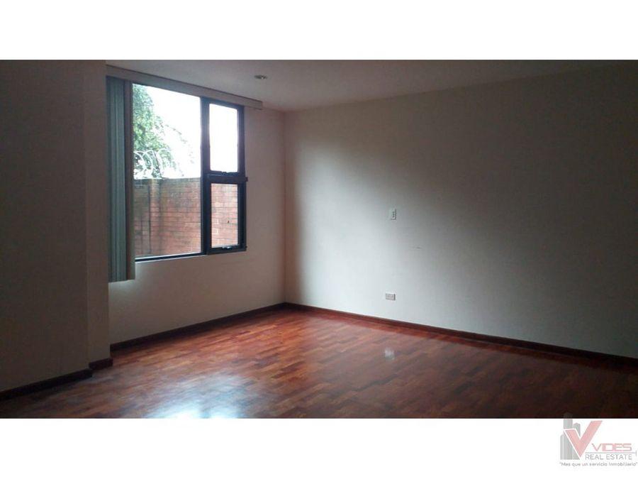 renta apartamento en 15 avenida zona 13