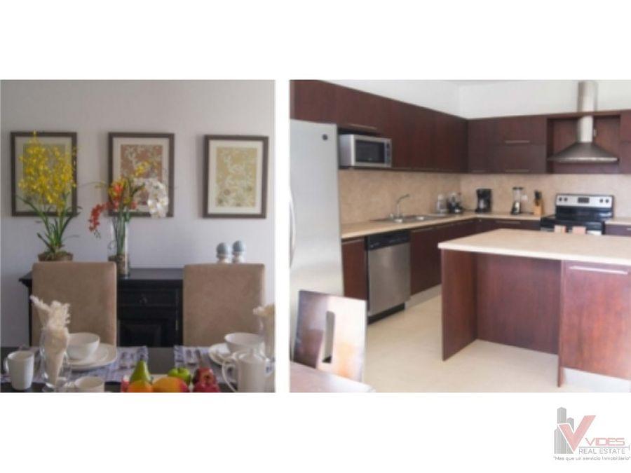 apartamento en renta z 14 con vista a la canada
