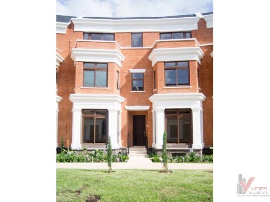 venta casa en zona 10 14 calle oakland