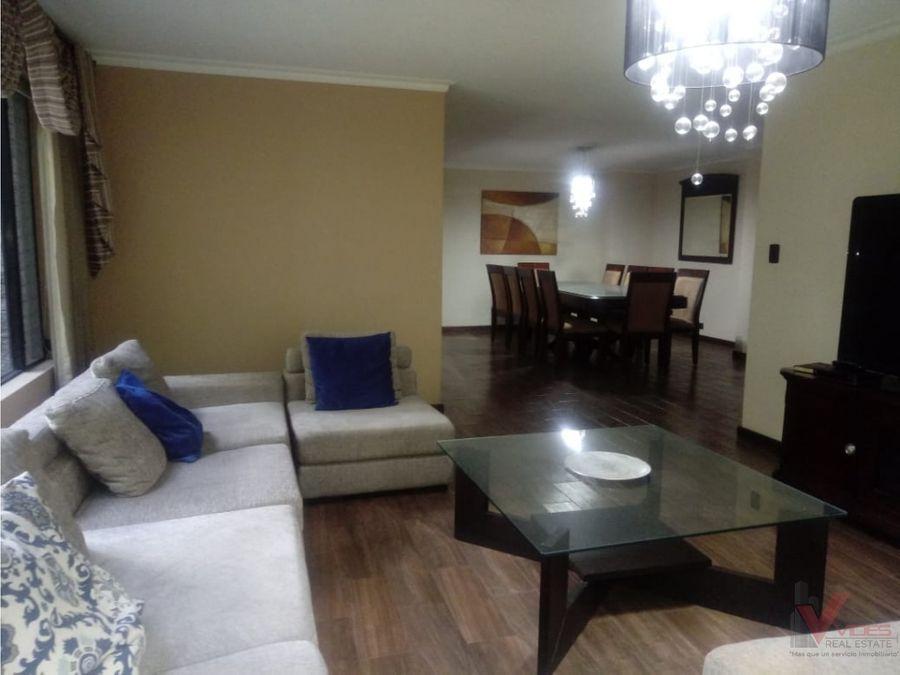 renta apartamento amueblado en zona 10 15 calle