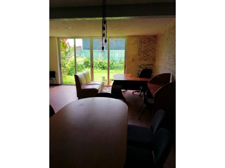 casa para oficina en renta z14