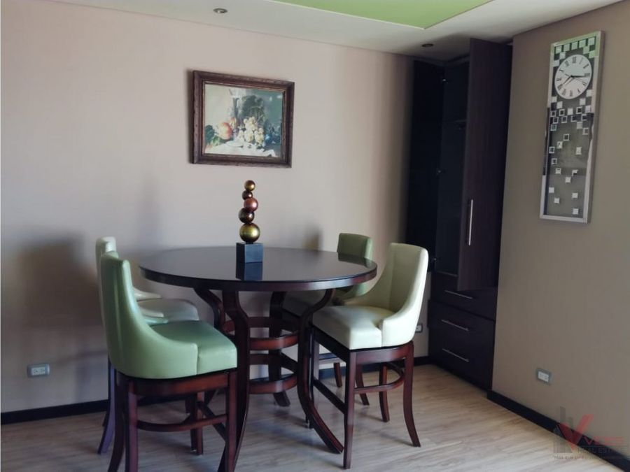 renta apartamento amoblado por 5av z14