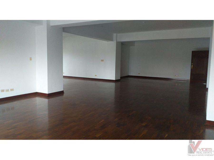 renta apartamento 8 av zona 10