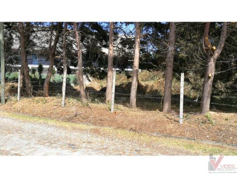 venta de terreno en villa canales