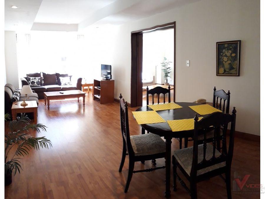 renta apartamento en 3 avenida zona 14