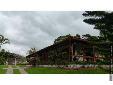 casa en venta via armenia salento quindio