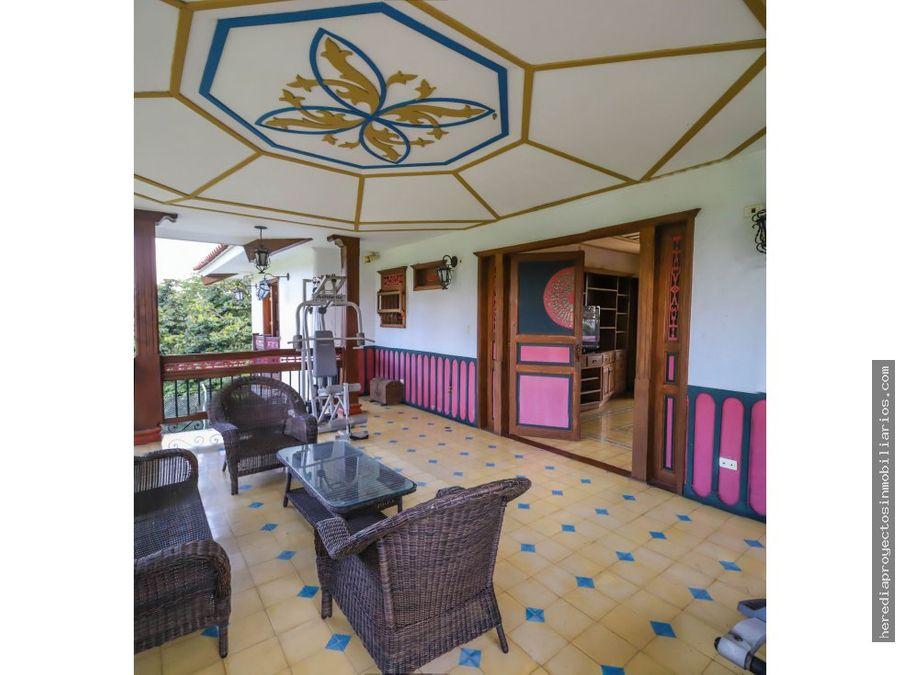 alquiler casa campestre via montenegro