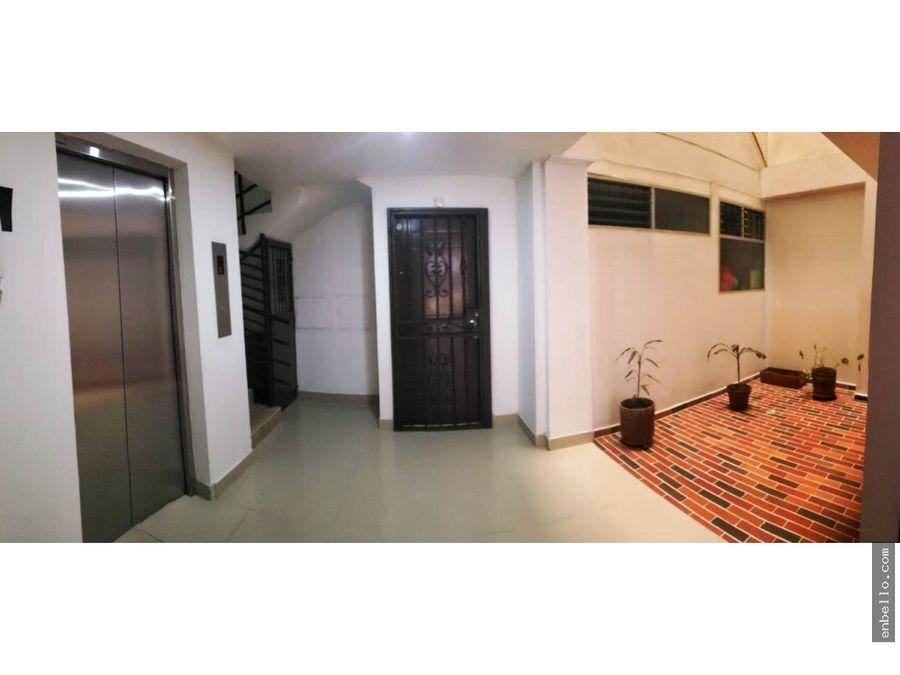 apartamento edificio en barrio suarez p2 55m bello