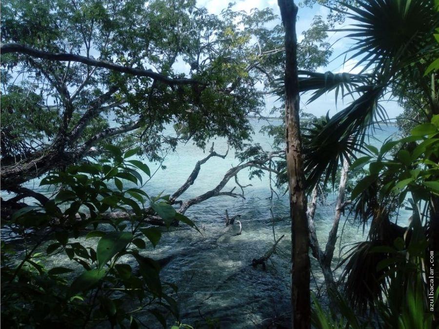 terreno frente a la laguna de buena vista