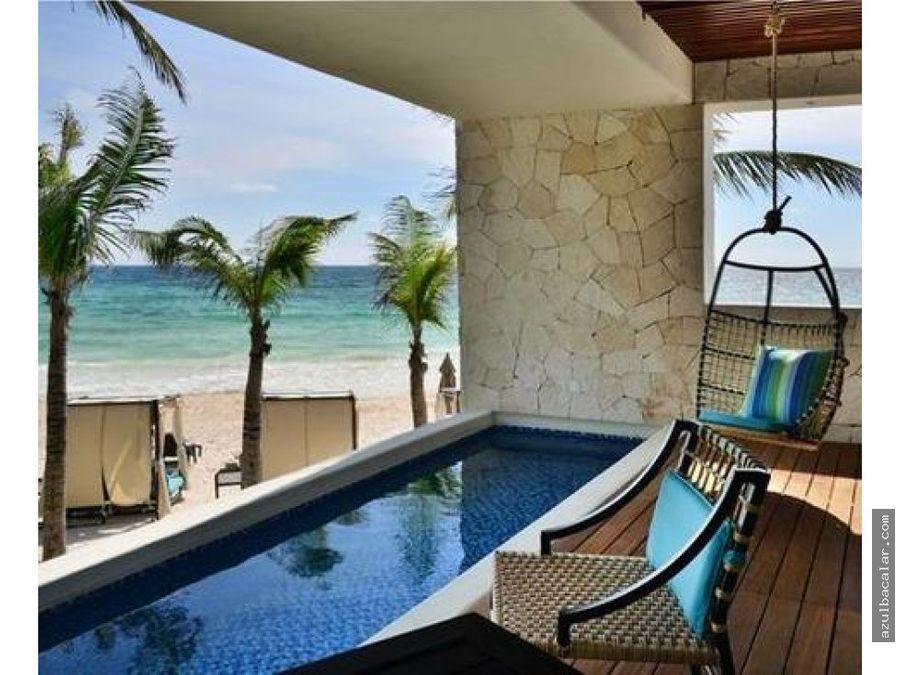 lujoso hotel en venta en tulum