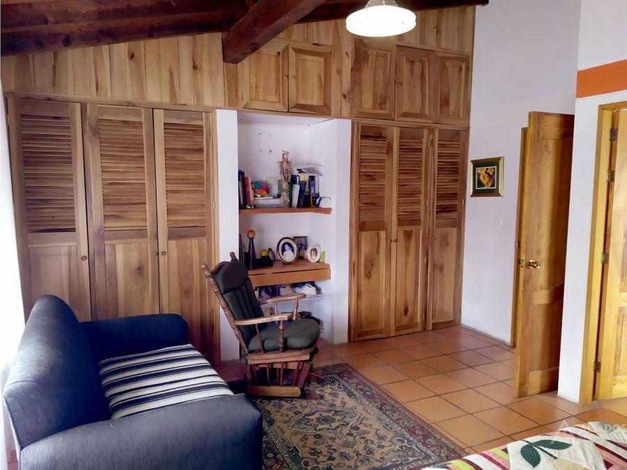 venta casa en el retiro con terreno grande en parecelacion