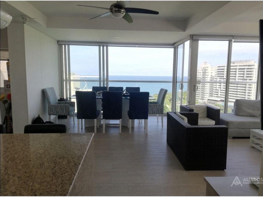 penthouse de lujo con vista al mar bello horizonte