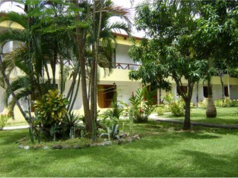 se vende hotel samara nicoya guanacaste 22 hab3685m2 2300000