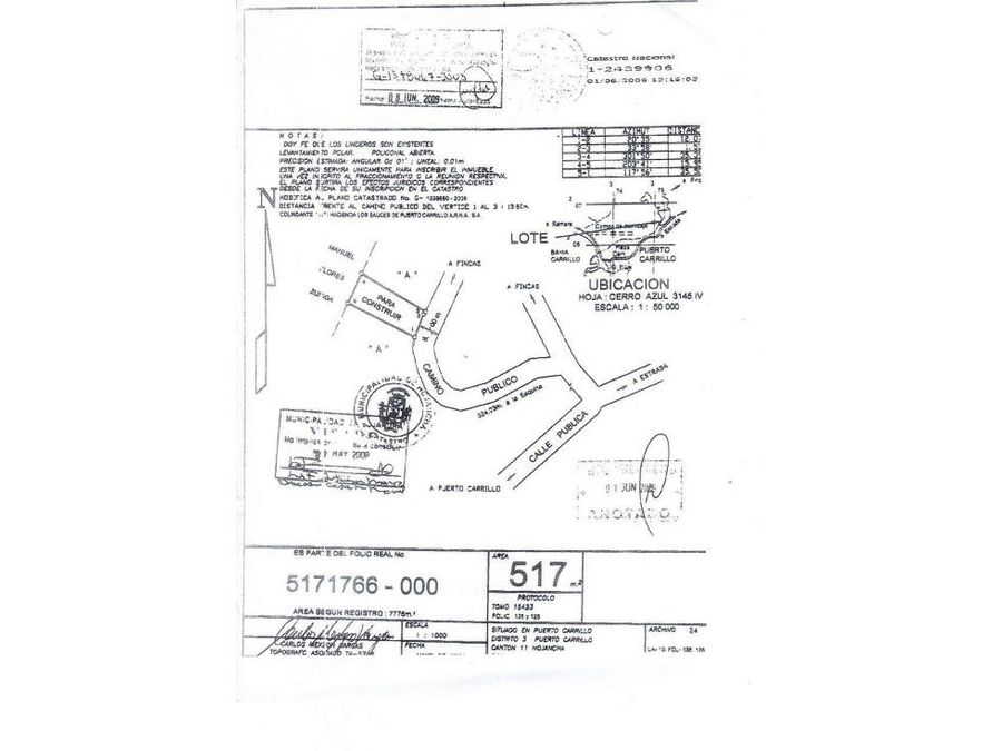 venta lote residencial puerto carrillo guanacaste vhp lv42