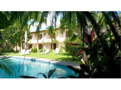 se vende hotel en samara 20 habitaciones nicoya guanacaste