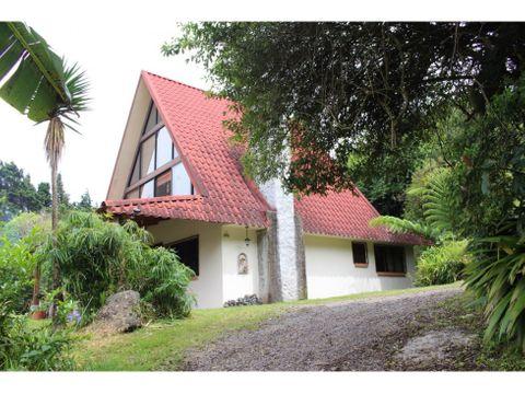 casa y finca agroecologica para venta en san isidro de heredia jpk
