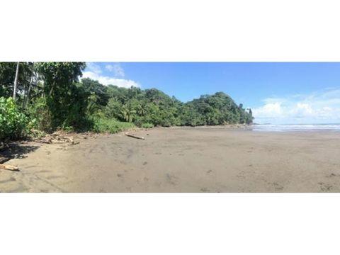 hermoso lote en playa uvita con gran vista