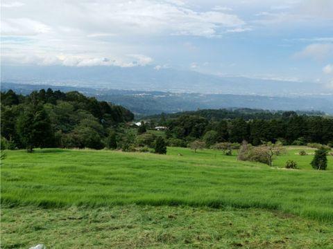 en venta lotes en las montanas del poas con espectaculares vistas