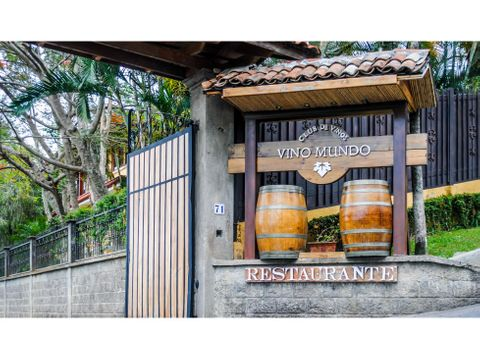 vendo restaurante bien establecido con terreno para desarrollo