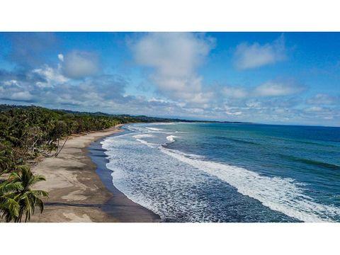 for sale beach front villa in esterillos oeste