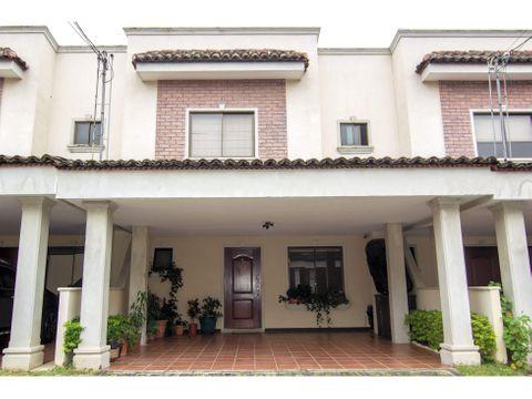 casa en venta condominio hacienda barcelona tres rios