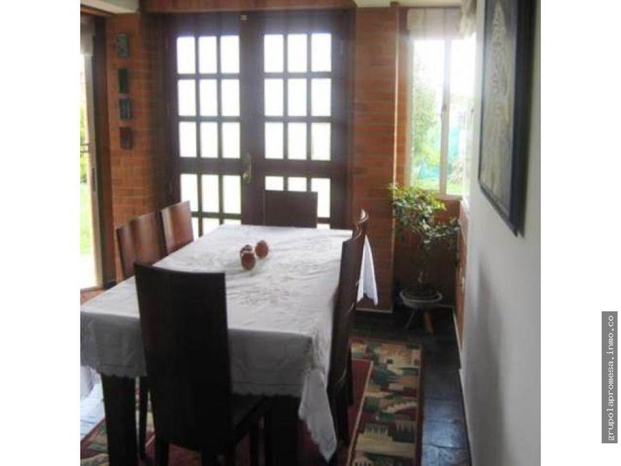vendo casa campestre en cota cundinacarca