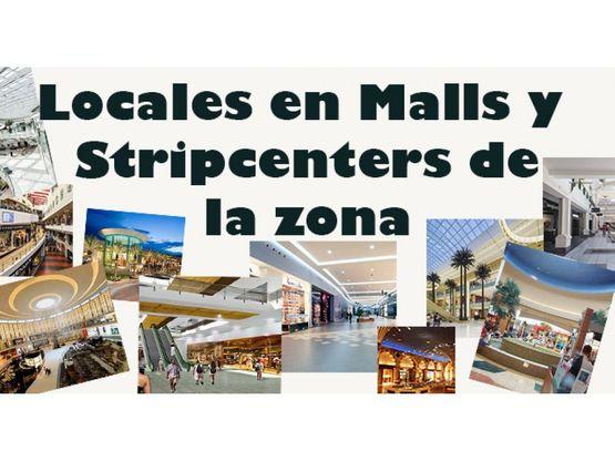 locales en malls y strip