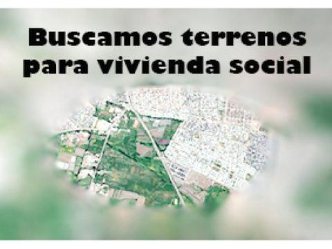 buscamos terreno vivienda social