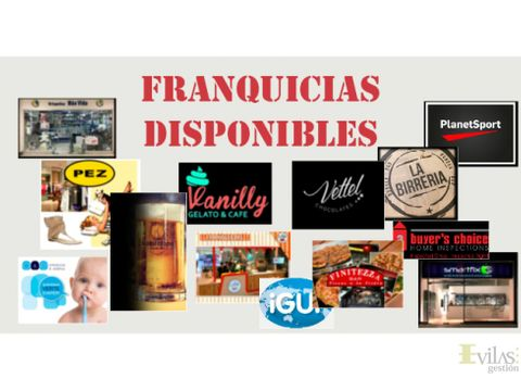 franquicias disponibles