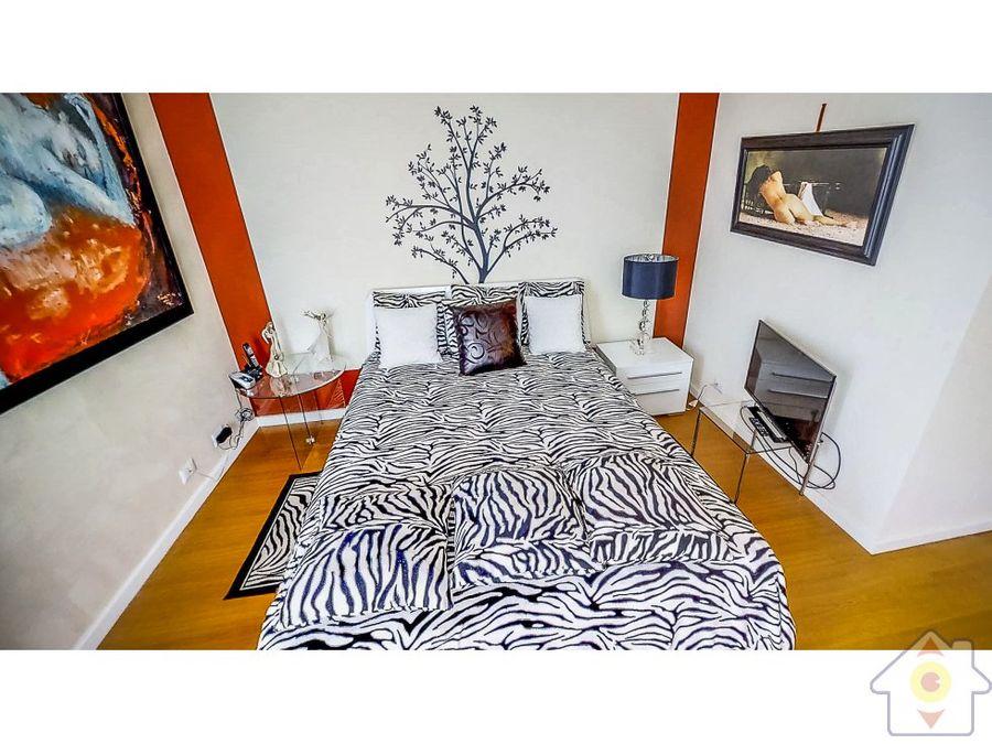 apartamento amueblado en altos de palermo 2 hab