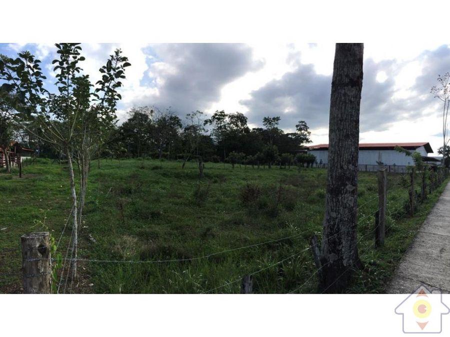 terreno de 9943 m2 a 7 km de la fortuna