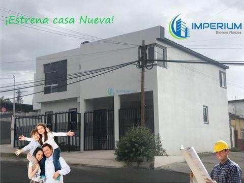casa nueva en venta en barrio de londres chihuahua