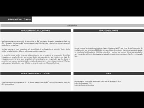 lote en el portal centro logistico empresarial