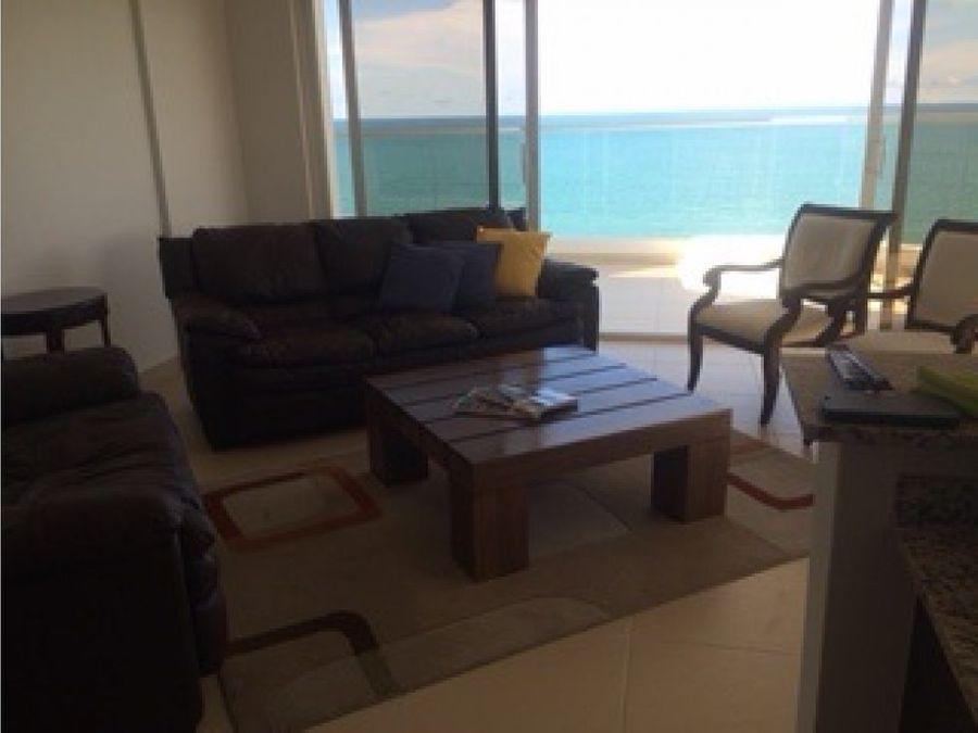venta de apartamento frente al mar id 1691