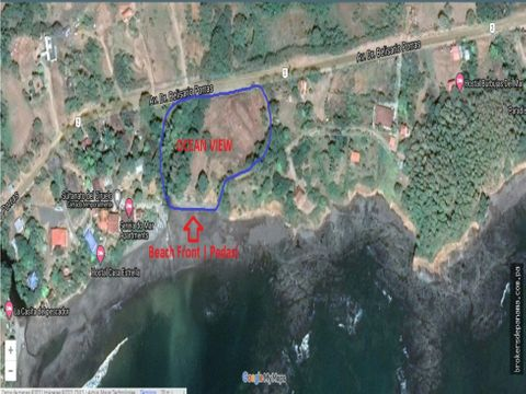 oceanfront land for sale in pedasi panama