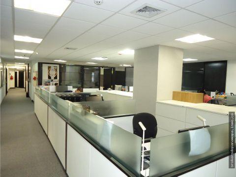 se vende oficina de 1535 mts2 en obarrio k174589