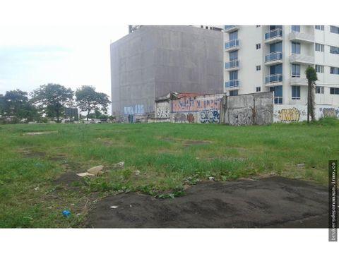 se vende lote avenida balboa inversion ak163606