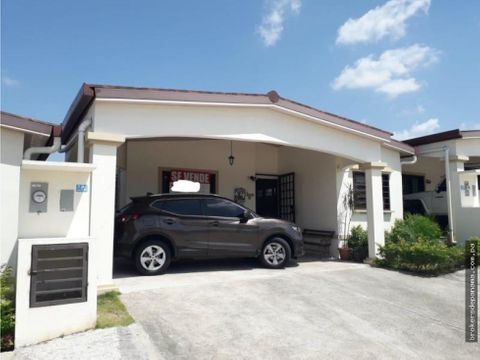 casa en venta en chorrera mml