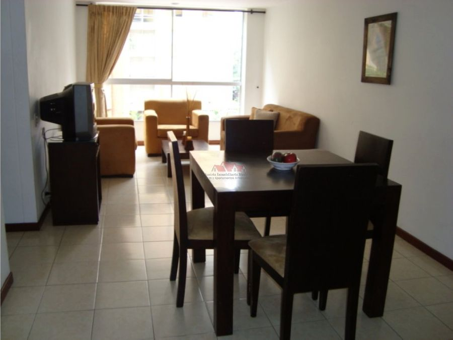apartamento amoblado sector poblado